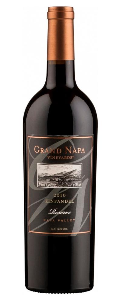 Vinho Tinto Grand Napa Vineyards Zinfandel Reserve