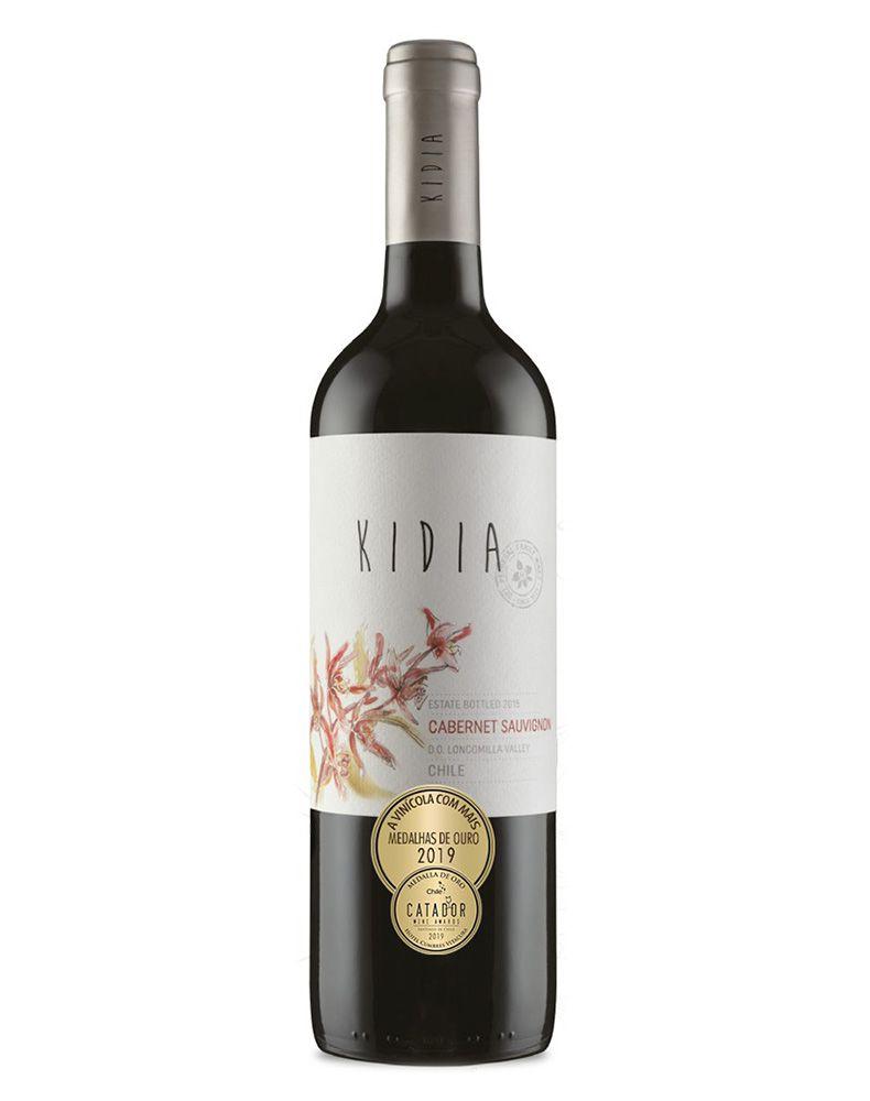 Vinho Tinto Kidia Cabernet Sauvignon D.O. Vale do Loncomilla