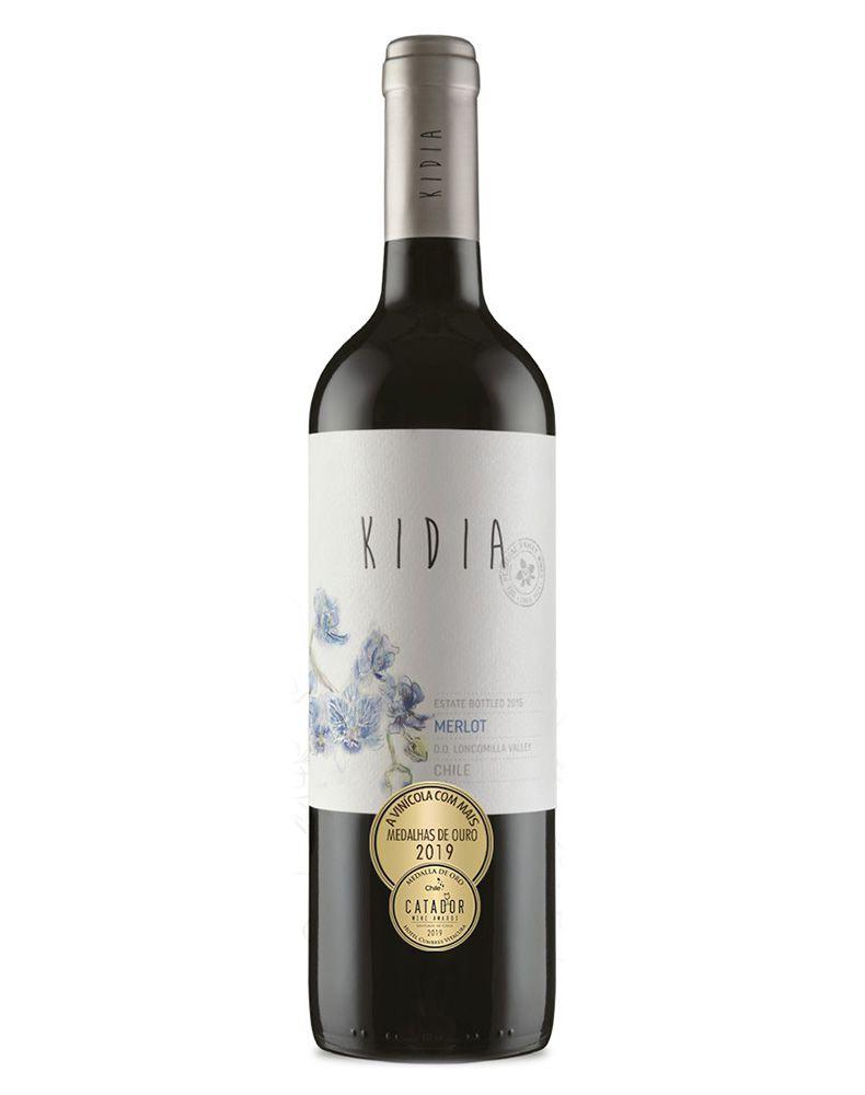 Vinho Tinto Kidia Merlot D.O. Vale do Loncomilla