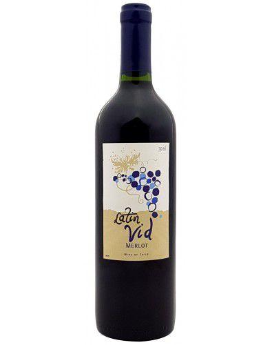 Vinho Tinto Latin Vid Merlot