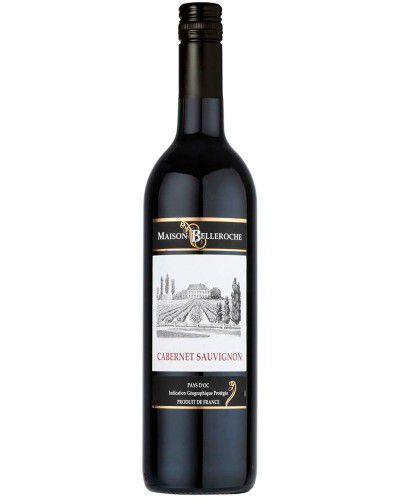Vinho Tinto Maison Belleroche Pays D'oc Cabernet Sauvignon I.G.P.