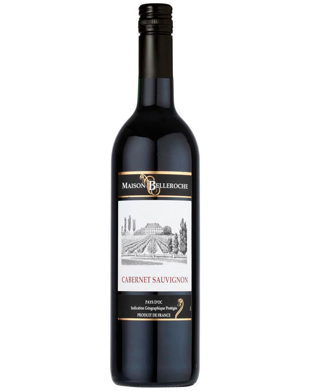Vinho Tinto Maison Belleroche Pays D'oc Cabernet Sauvignon I.G.P. 2016