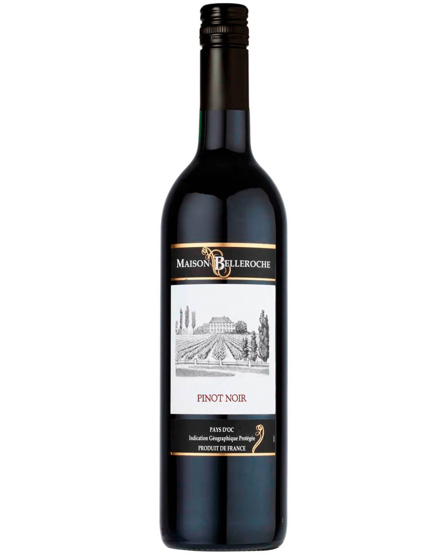 Vinho Tinto Maison Belleroche Pays D'oc Pinot Noir I.G.P. 2016