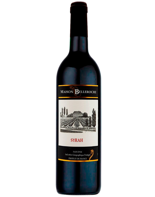 Vinho Tinto Maison Belleroche Pays D'oc Syrah I.G.P. 2016