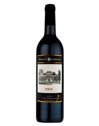 Vinho Tinto Maison Belleroche Pays D'oc Syrah I.G.P.