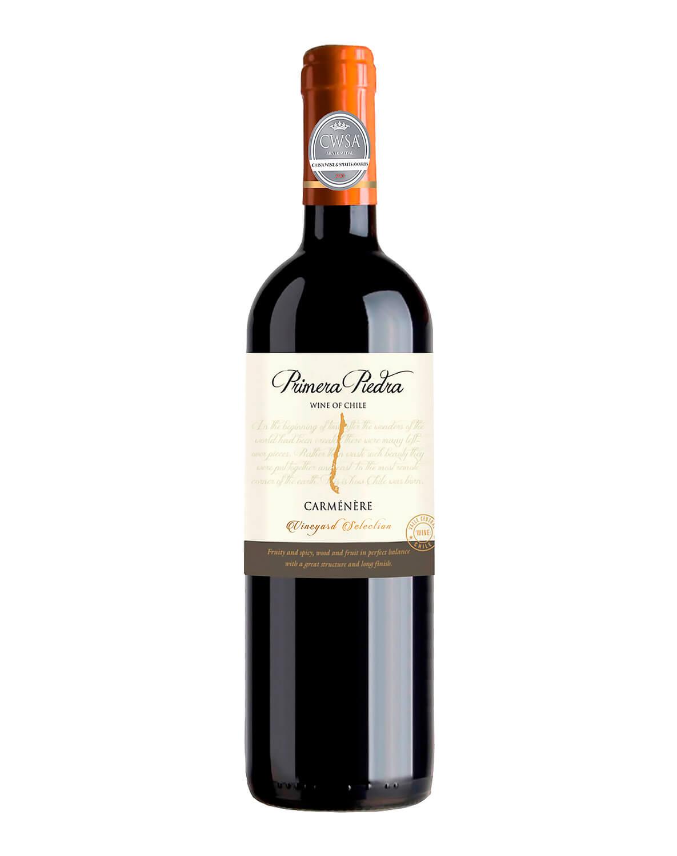 Vinho Tinto Primera Piedra Carmenere 2019