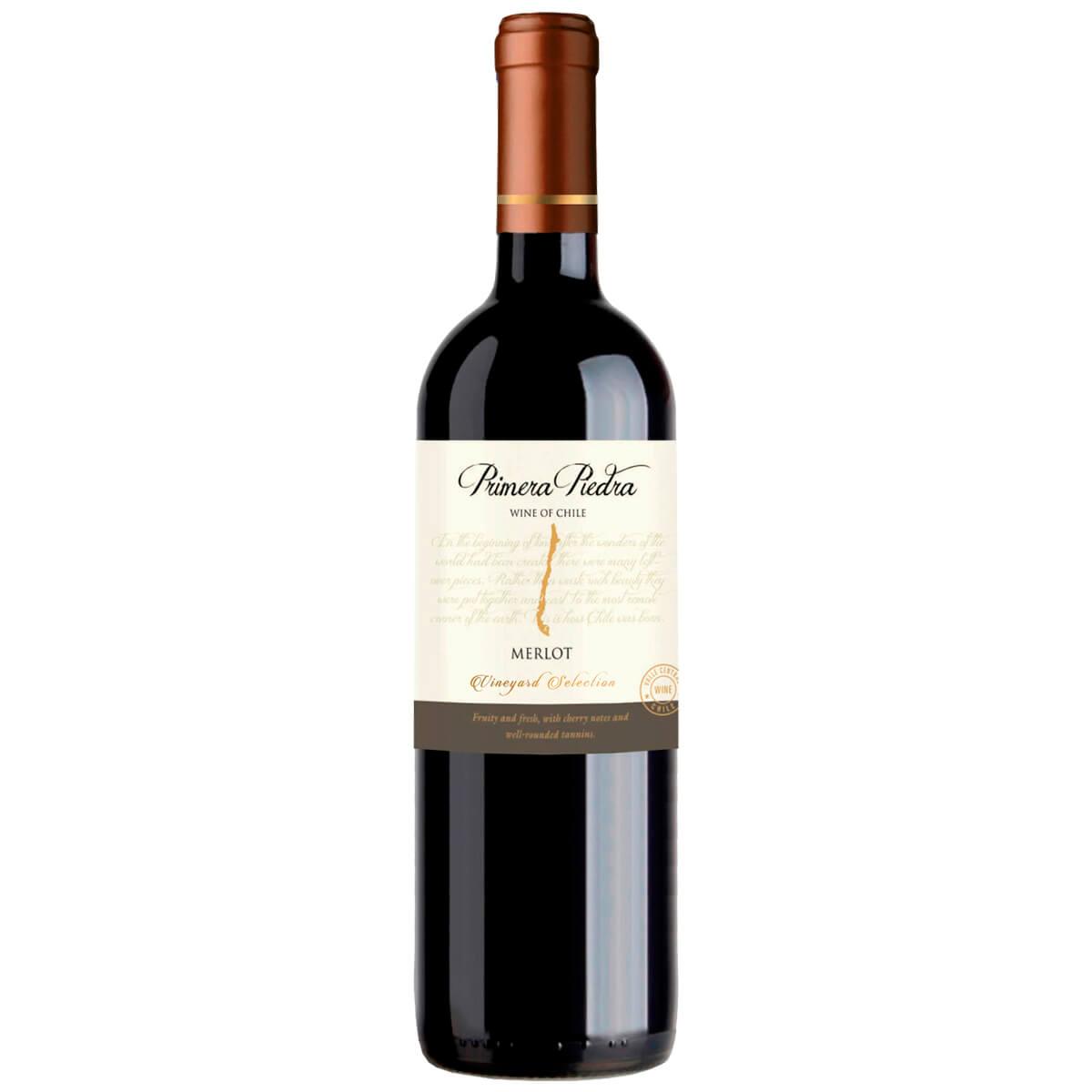 Vinho Tinto Primera Piedra Merlot 2019