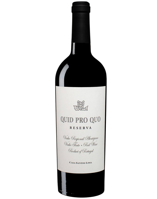 Vinho Tinto Quid Pro Quo Reserva Vinho Regional Alentejano 2015