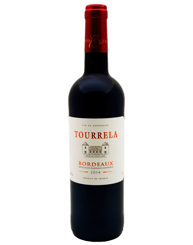 Vinho Tinto Tourrela AOP Bordeaux 2014