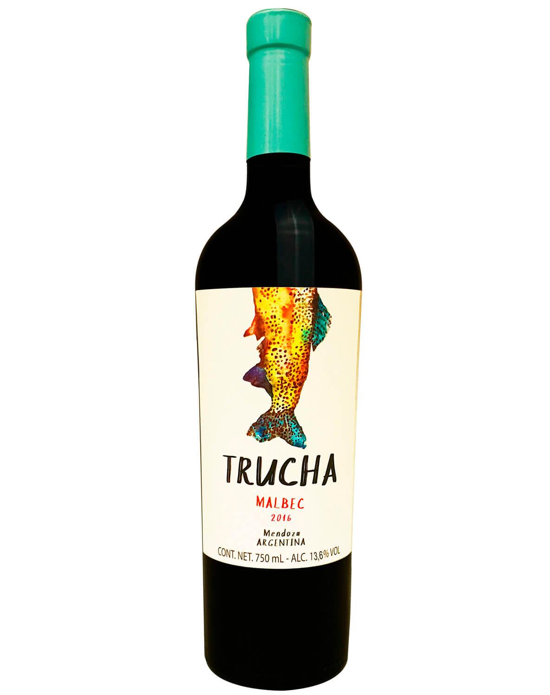 Vinho Tinto Trucha Malbec 2016
