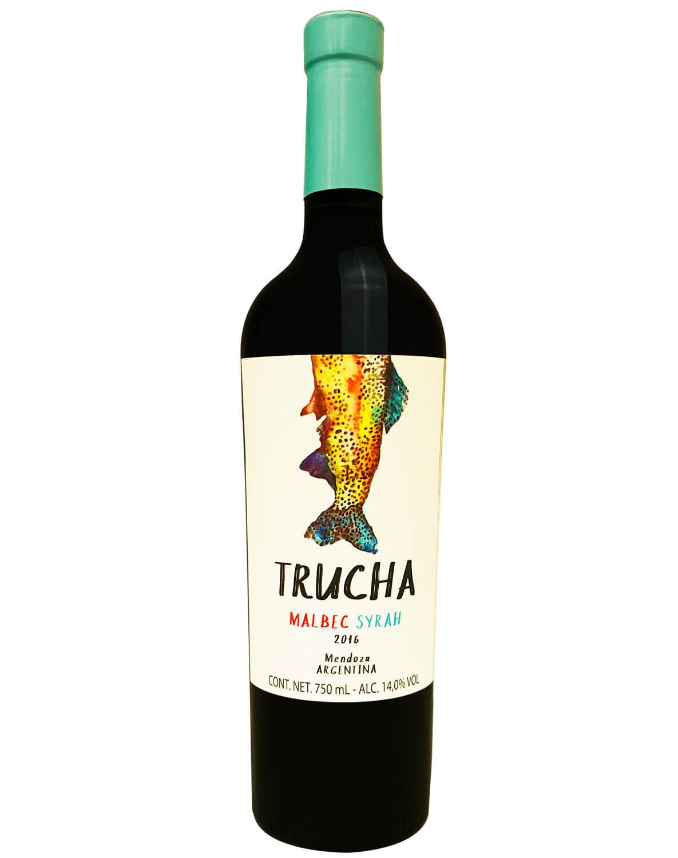 Vinho Tinto Trucha Malbec/ Syrah 2016