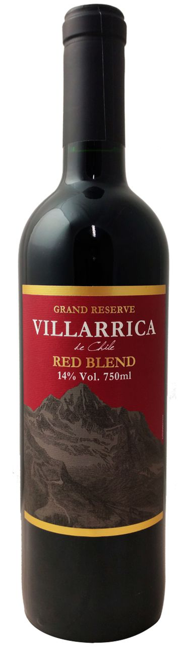 Vinho Tinto Villarrica De Chile Grand Reserve Red Blend 2018