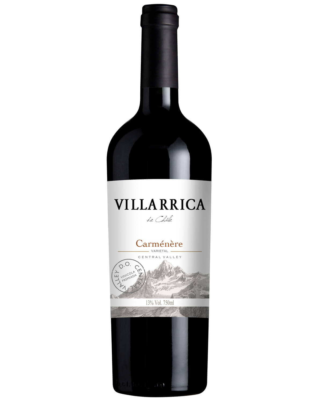 Vinho Tinto Villarrica de Chile Carménère D.O. Vale Central 2018