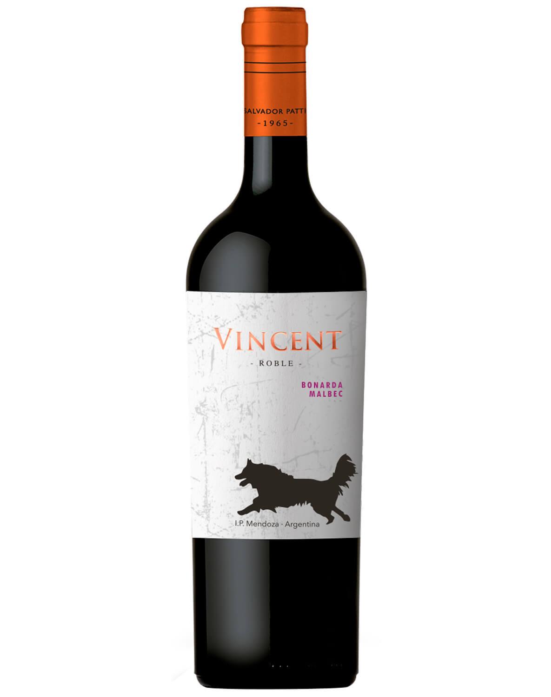Vinho Tinto Vincent Bonarda/ Malbec I.P. Mendoza 2017