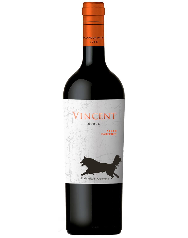 Vinho Tinto Vincent Syrah/ Cabernet Sauvignon I.P. Mendoza 2017