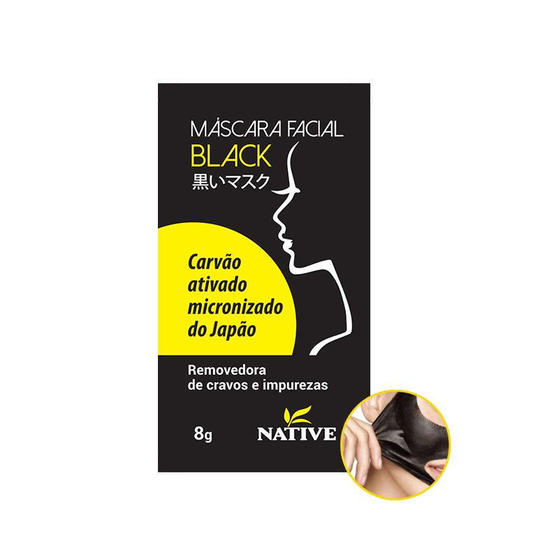 MÁSCARA FACIAL BLACK - PEEL OFF