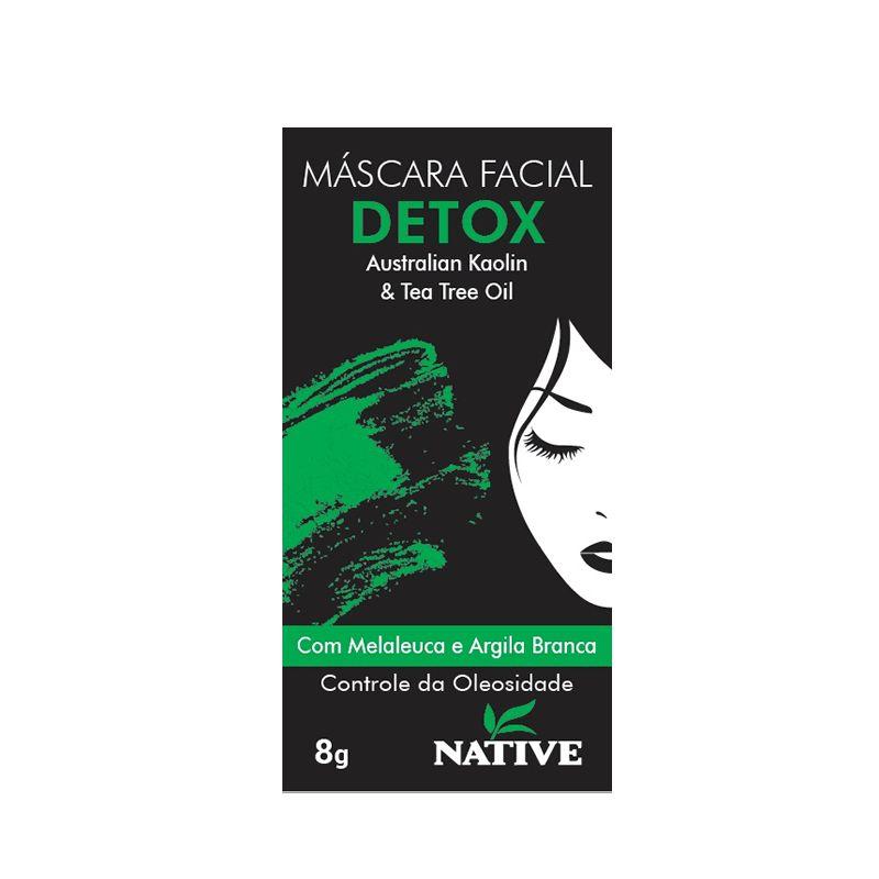 Máscara Facial DETOX 8 G