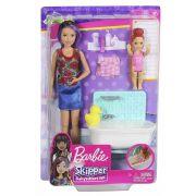 Barbie Babysitter Boneca Conjunto Sortidos - Mattel