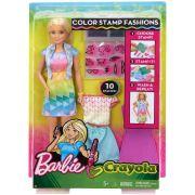 Barbie Criações Com Carimbos - Mattel