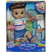 Boneco Baby Alive Sapatinhos Brilhantes Menino - Hasbro