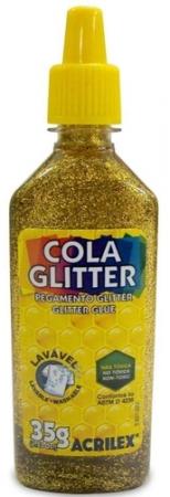 Cola com Glitter Ouro 35g