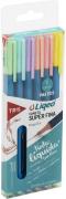 Conjunto de Canetas Tris Liqeo 0.4mm Cor Pastel