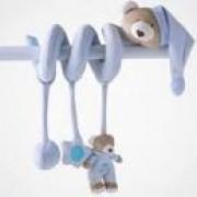 Espiral Atividades Urso Nino Azul Bebê