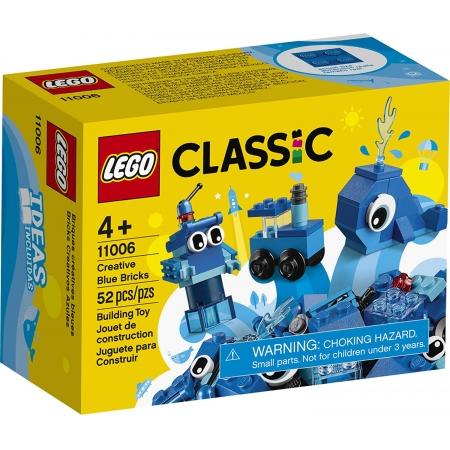 Lego Classic - Peças Azuis Criativas