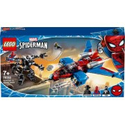 Lego SpiderJet vs Robo Venom