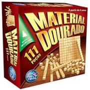 Material Dourado Com 111 Peças - Madeira