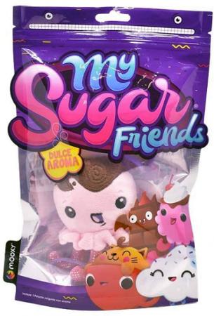Mini Pelúcia Com Cheirinho My Sugar Friends Sortidos - Toyng