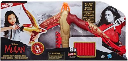 Nerf Arco da Guerreira Mulan - Hasbro