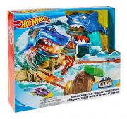 Pista Hot Wheels Ataque do Tubarão
