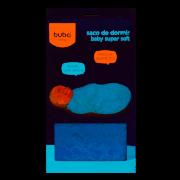 Saco de Dormir Baby Super Soft Azul - Buba