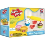 Super Massa Mini Cupcakes - Estrela