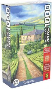 Quebra-Cabeça Toscana 1000 peças - Grow
