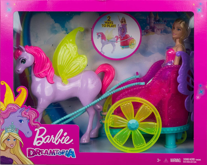 Barbie Fantasia Princesa com Carruagem - Mattel
