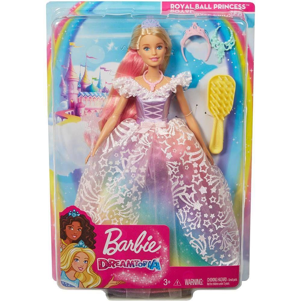 Barbie Dreamtopia Princesa Vestido Brilhante - Mattel