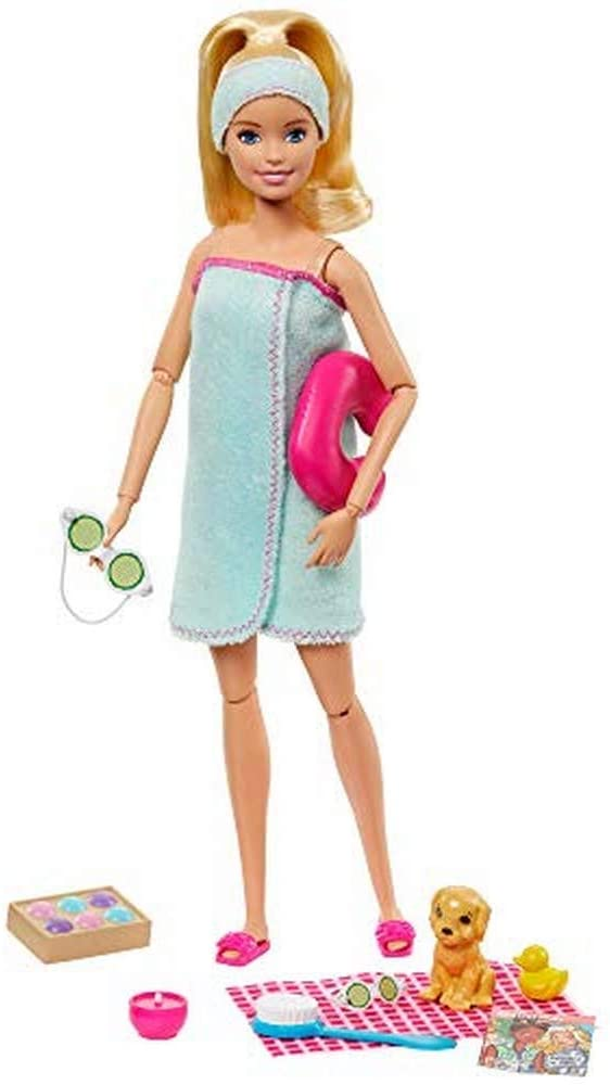 Barbie Fashionista Dia de Spa - Mattel