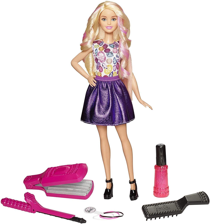 Barbie Fashion Ondas e Cachos - Mattel