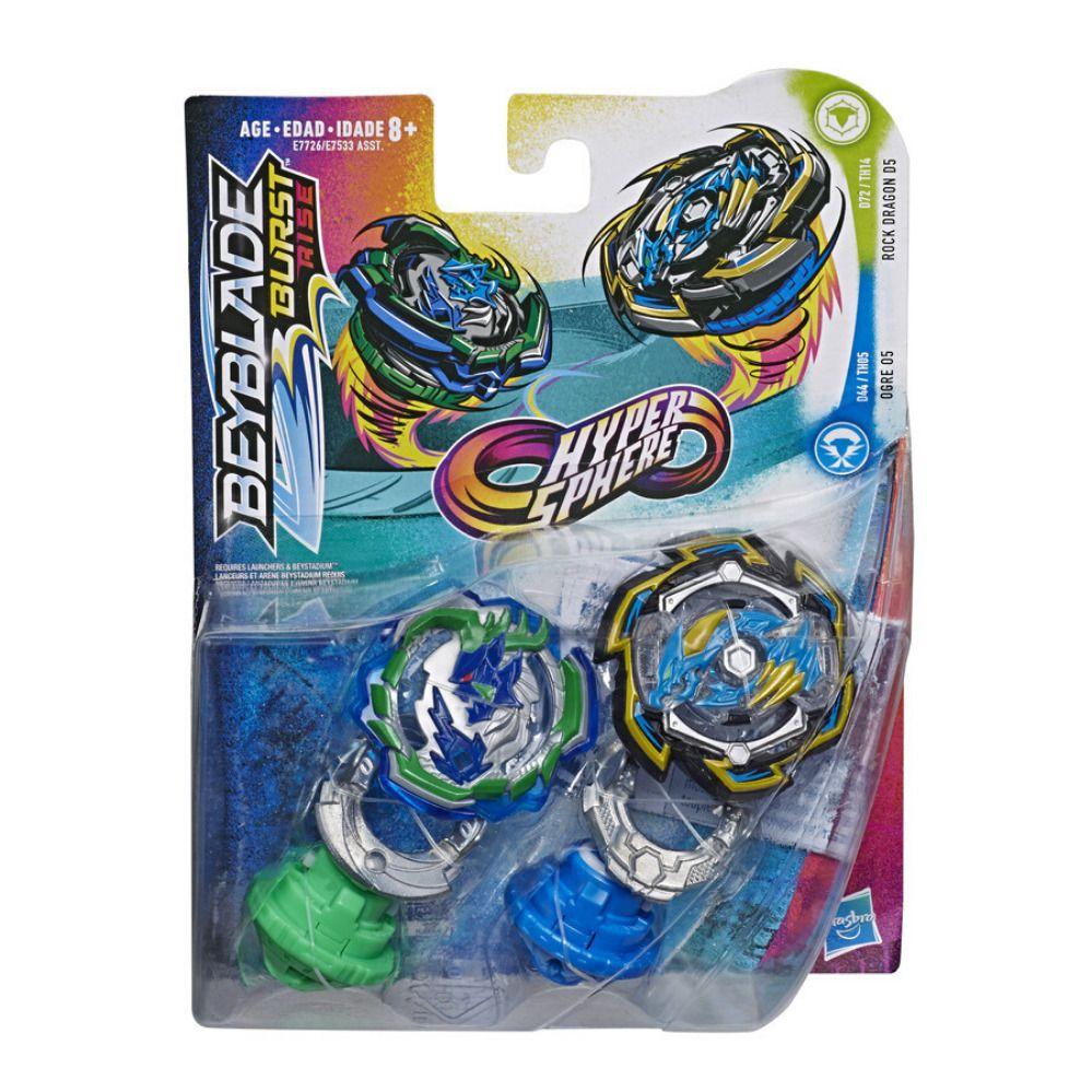 Beyblade Hypersphere Pack com 2 - Hasbro