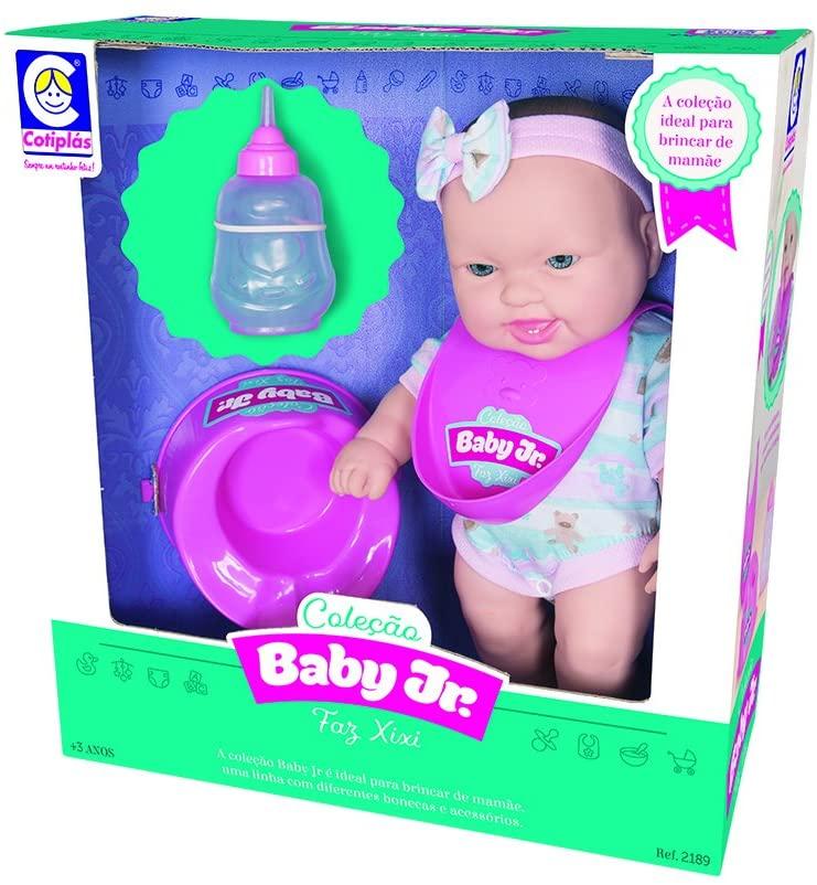 Boneca Baby Jr Faz Xixi - Cotiplás