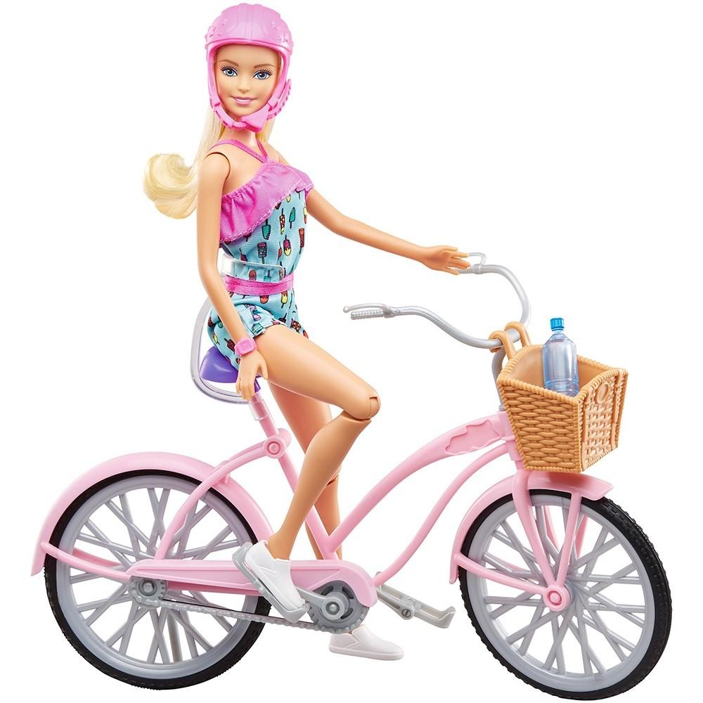 Barbie com Bicicleta - Mattel