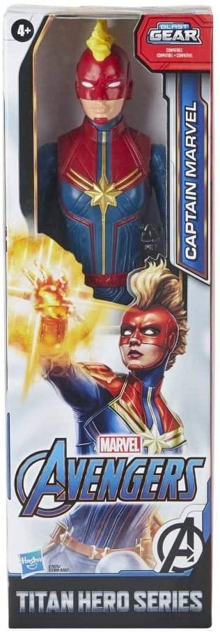 Boneca Articulada Capitã Marvel - Marvel Titan Hero Series