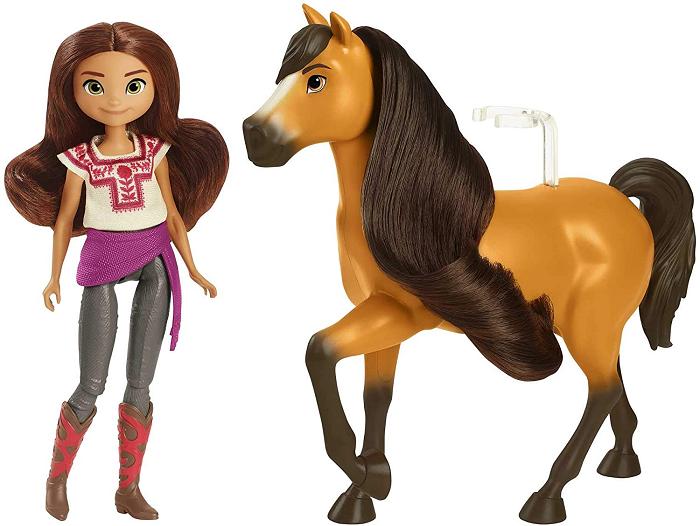 Boneca com Cavalo Spirit - Mattel