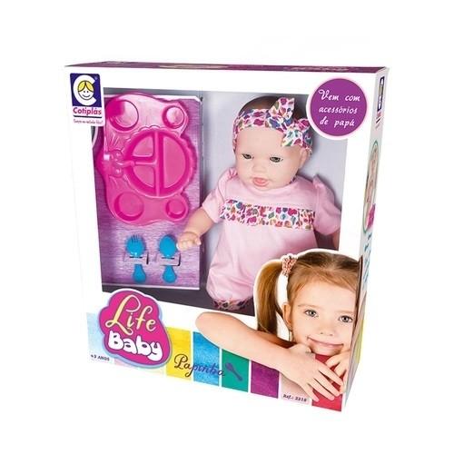 Boneca Life Baby Papinha - Cotiplás