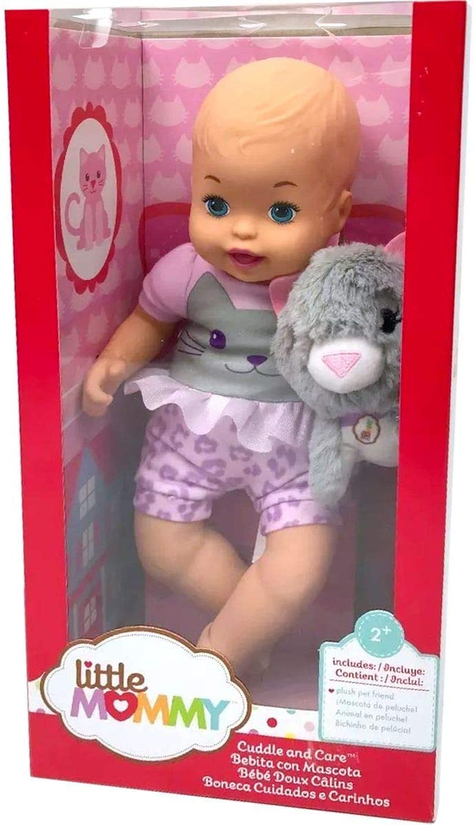 Boneca Little Mommy e Bichinho de Pelúcia - Mattel