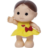 Boneca Magali Iti Malia - Turma da Mônica