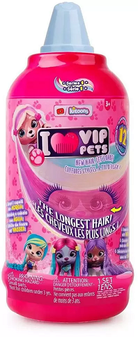 Boneca Surpresa Vip Pets Hair - Multilaser