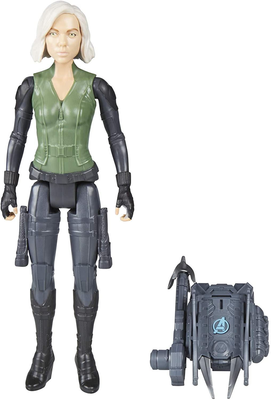Figura de Ação Viúva Negra - VingadoresES Titan Hero Power FX